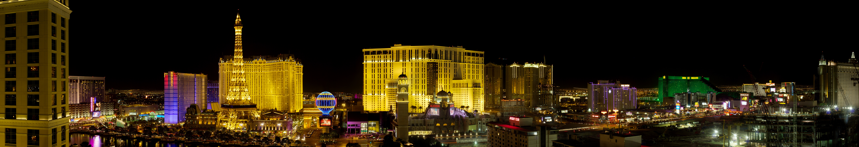 De Las Vegas Strip skyline