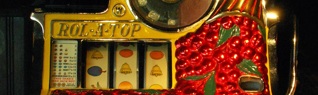 Old Las Vegas slot machine